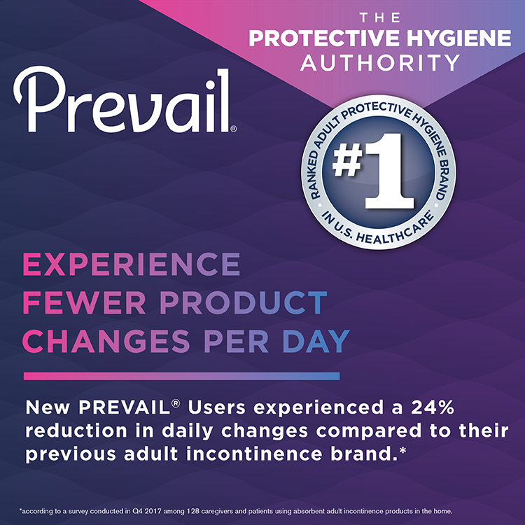Prevail® Underwear #1 Ranked Brand in Healthcare